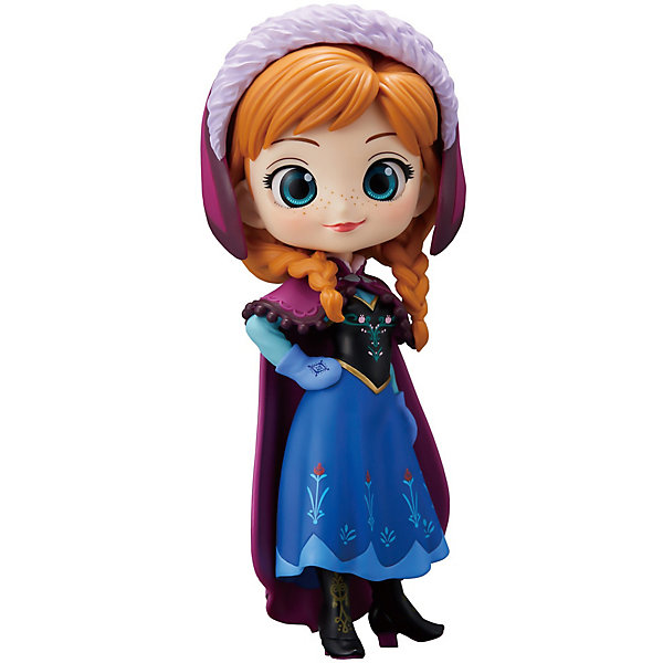 BANDAI Фигурка Bandai Q Posket Disney Characters Анна в обычной цветовой версии, BDQ2