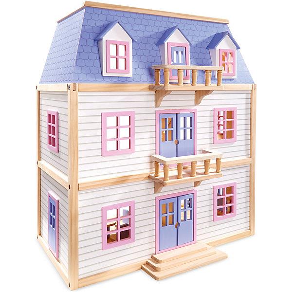 Melissa & Doug Дом для кукол Melissa&Doug 3-этажный дом для кукол мой дом алина 4108