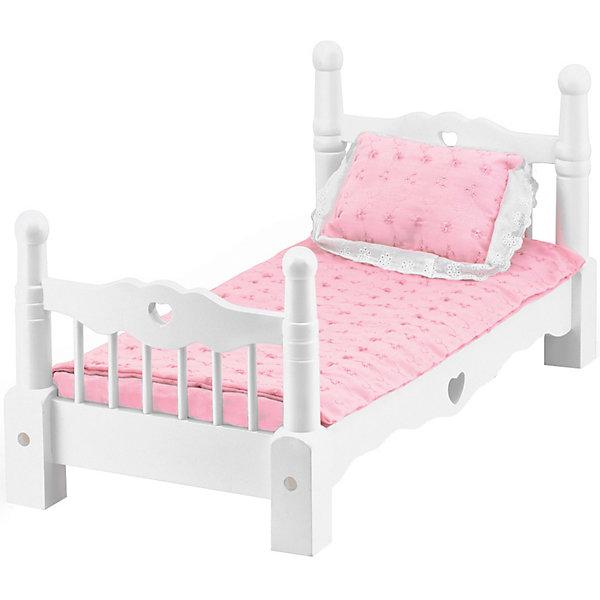 Купить Деревянная кроватка Melissa&Doug, Melissa & Doug, Китай, разноцветный, Женский