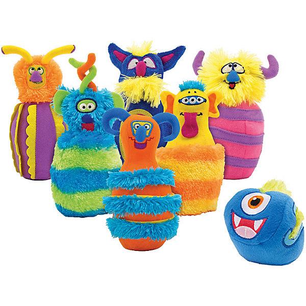 Купить Игровой набор Melissa&Doug Боулинг с монстрами, Melissa & Doug, Китай, разноцветный, Унисекс