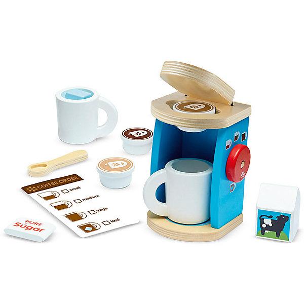 Купить Кофейный набор Melissa&Doug Готовь и играй, Melissa & Doug, Китай, разноцветный, Унисекс