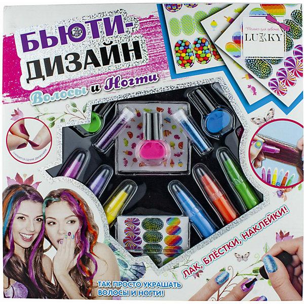 Lukky Набор 2 в 1 Lukky Бьюти-Дизайн Волосы и ногти