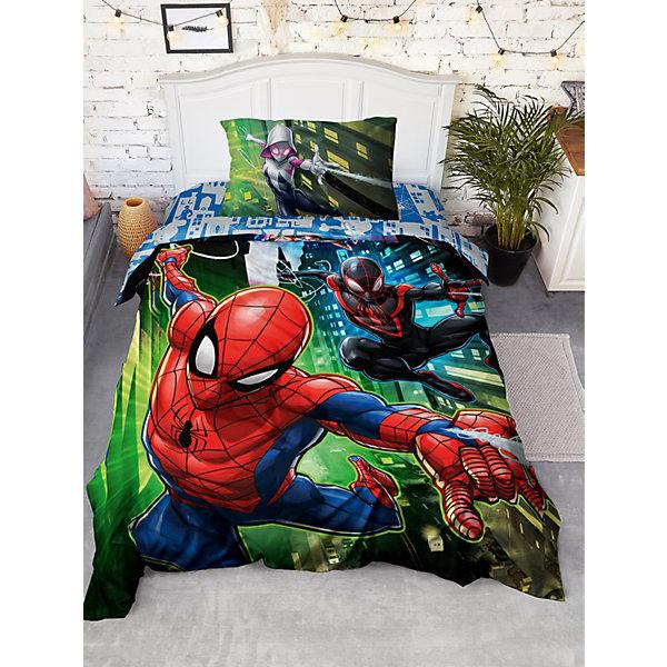 Непоседа Детское постельное белье 1,5 сп Непоседа Человек Паук панно Spiders постельное бельё 1 5 сп 70х70 begal постельное бельё 1 5 сп 70х70