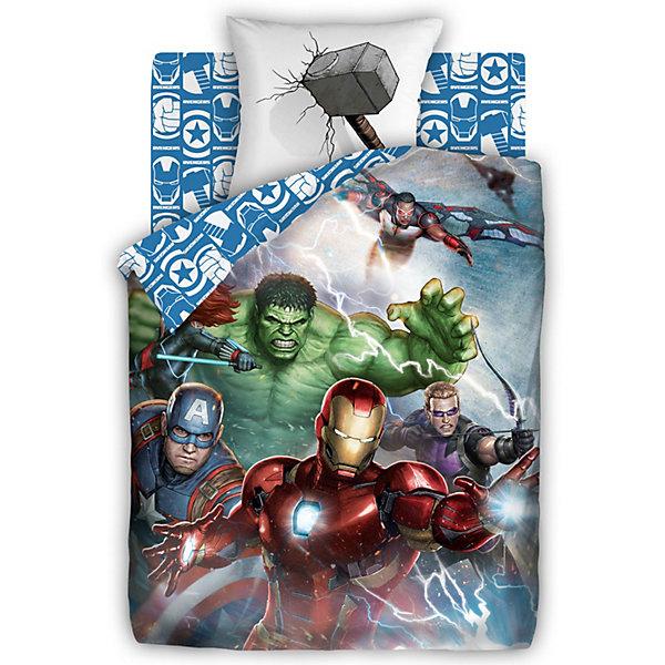 Непоседа Детское постельное белье 1,5 сп Непоседа Мстители панно Superheroes постельное бельё 1 5 сп 70х70 begal постельное бельё 1 5 сп 70х70