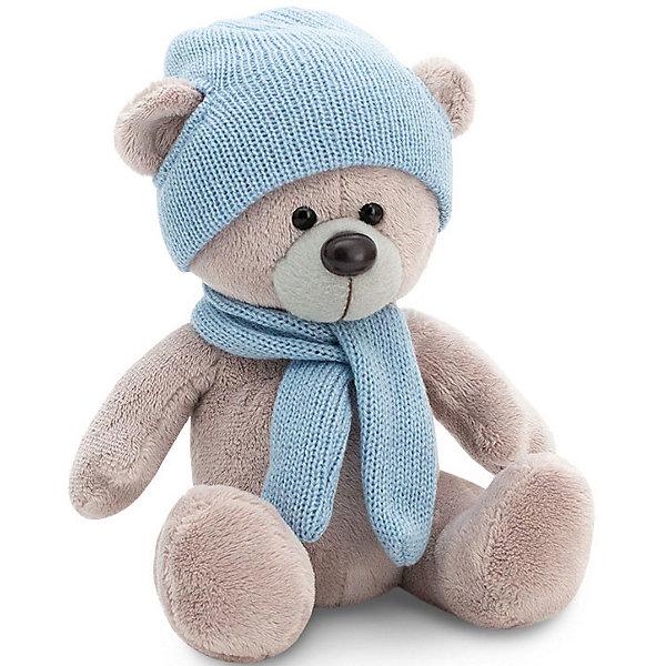 Orange Мягкая игрушка Orange Медведь Топтыжкин : в шапке и шарфе, 25 см