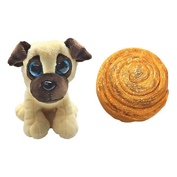 Premium Toys Мягкая игрушка-трансформер Sweet Pups Сладкие щенки, Мопс