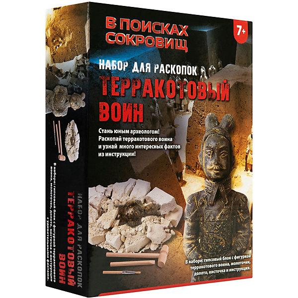Купить Набор для раскопок Росмэн Терракотовый воин . ТМ В поисках сокровищ , Китай, Унисекс