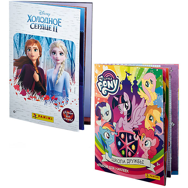 Panini Альбомы Холодное сердце 2 (Frozen 2); My Little Pony