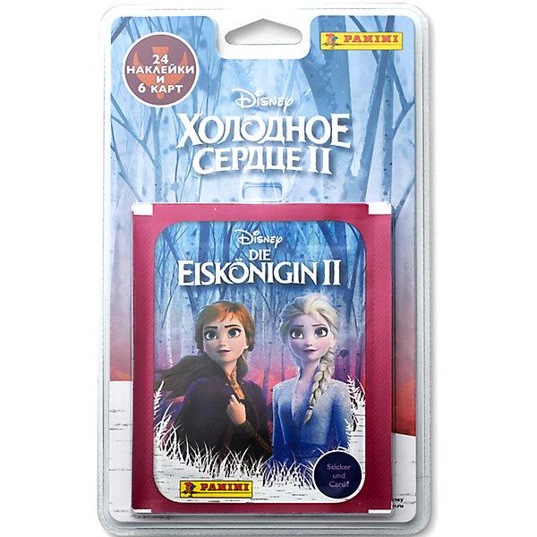 Panini Блистер с наклейками Panini Холодное сердце 2 (Frozen 2), 6 пакетиков