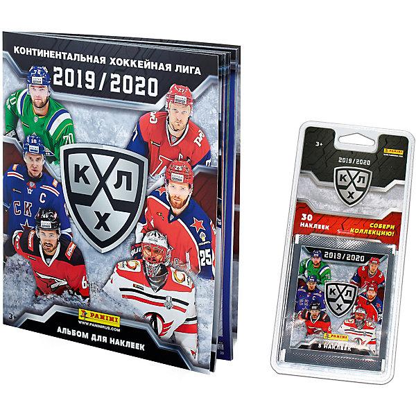 Альбом Panini КХЛ сезон 2019-20 альбом и блистер с наклейками, 6 пакетиков по цене 393