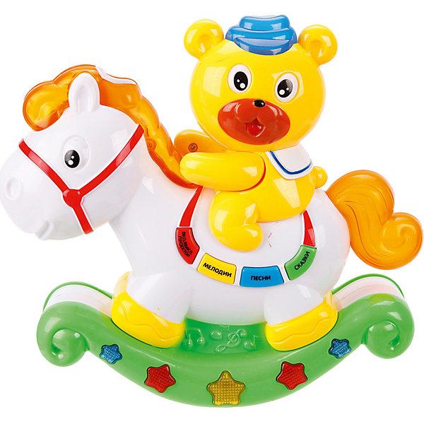Купить Медвежонок и лошадка Наша игрушка с проектором, Наша Игрушка, Китай, Унисекс