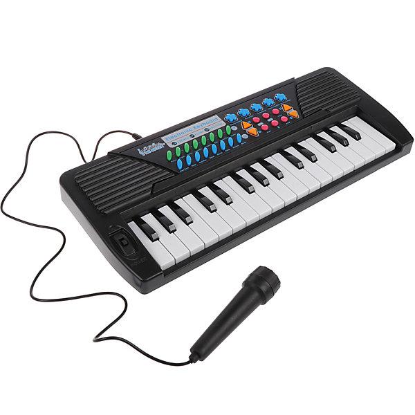 музыкальные игрушки potex синтезатор smart piano 32 клавиши 939в Наша Игрушка Синтезатор Наша игрушка с микрофоном
