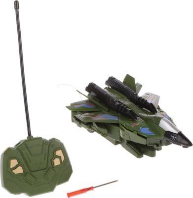 Наша Игрушка Трансформер Наша игрушка Самолет-робот, радиоуправляемый