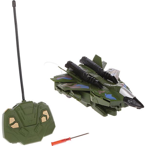 Наша Игрушка Трансформер игрушка Самолет-робот, радиоуправляемый