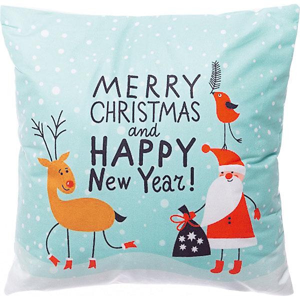 House of Seasons Декоративная подушка seasons Рождество мятная