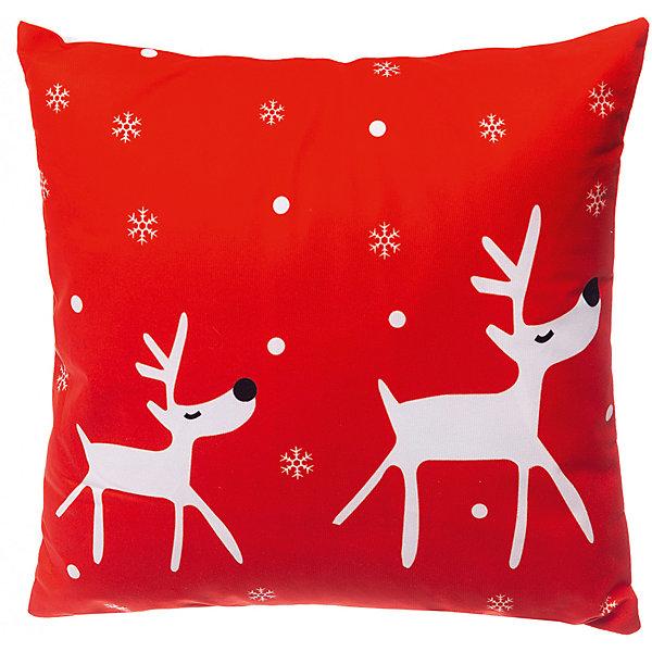 House of Seasons Декоративная подушка seasons Рождество красная