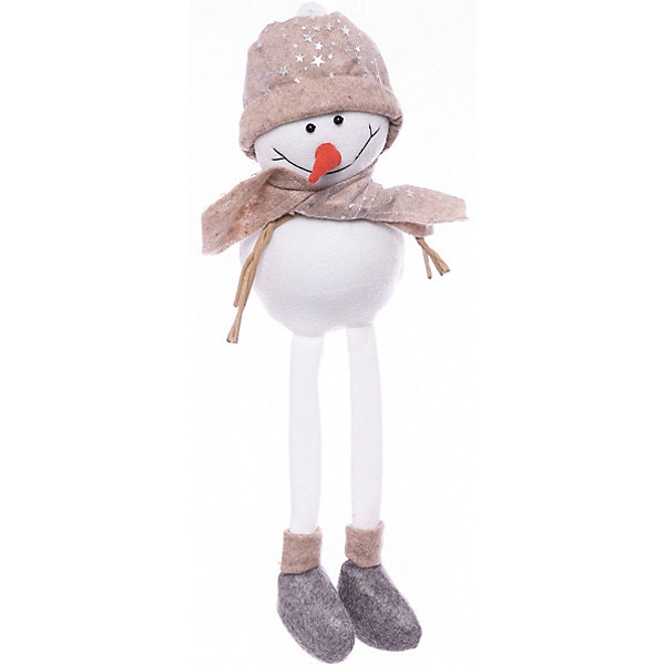 House of Seasons Фигурка декоративная seasons Снеговик в бежевой шапочке