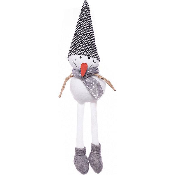 House of Seasons Фигурка декоративная seasons Снеговик в черной шапочке