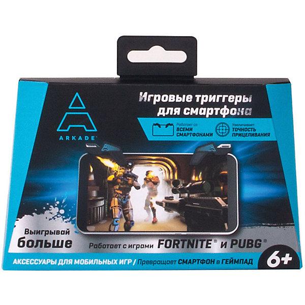 Arkade Игровые триггеры для смартфона Arkade, 2 штуки + кейс arkade 20209a