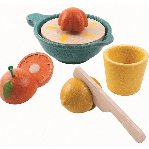 Купить Игровой набор Plan Toys Соковыжималка , желто-сине-красный, Таиланд, желтый, Унисекс