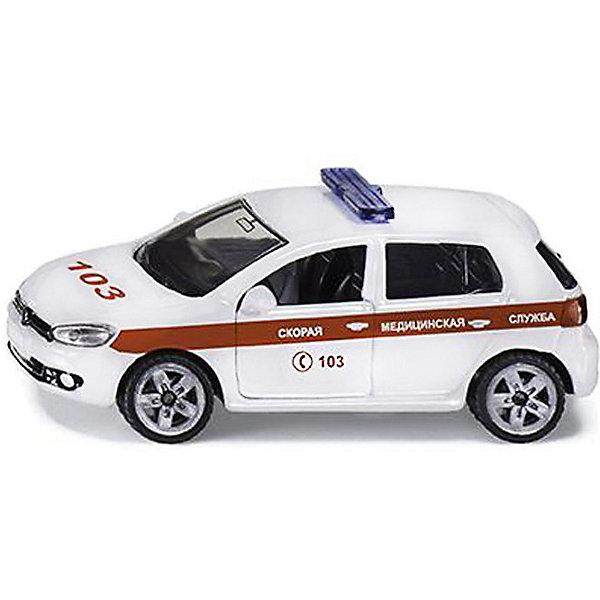 SIKU Машина Siku Cкорая помощь набор машинок siku пожарная служба 1818rus