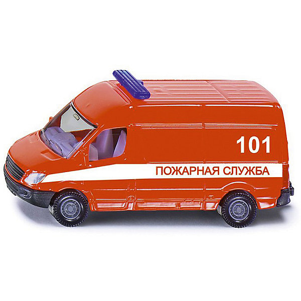 SIKU Машина-микроавтобус Siku Пожарная служба игрушка siku siku mp002xb00asr