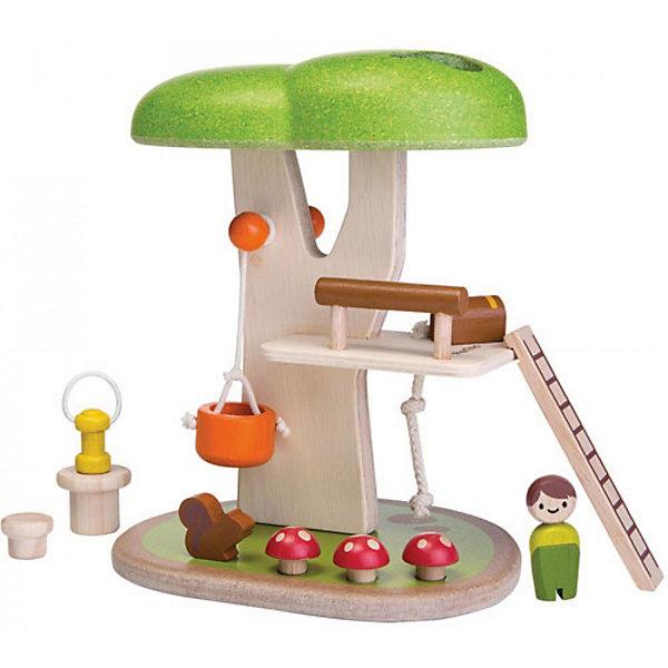 Купить Игровой набор Plan Toys Дом на дереве , Таиланд, разноцветный, Унисекс