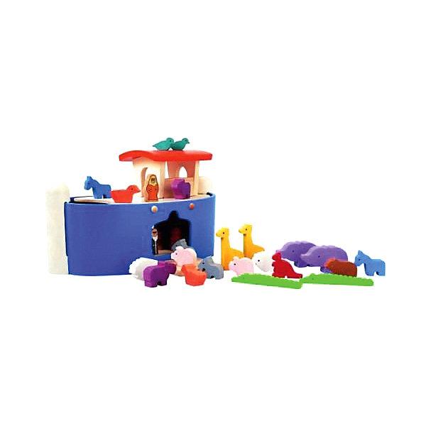 Plan Toys Игровой набор Ноев ковчег
