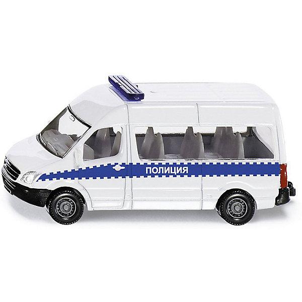 SIKU Машина-микроавтобус Siku Полиция игрушка siku siku mp002xb00asr