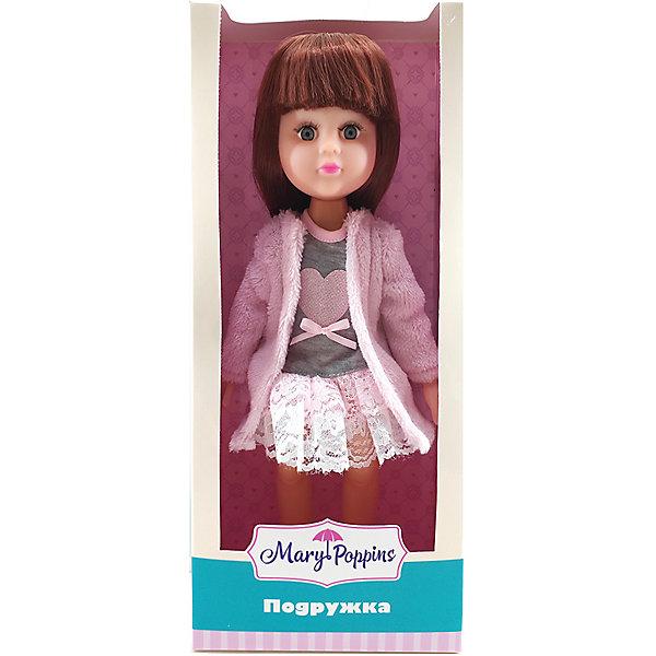 Купить Кукла в шубке Mary Poppins Подружка, 31см, Китай, розовый, Женский