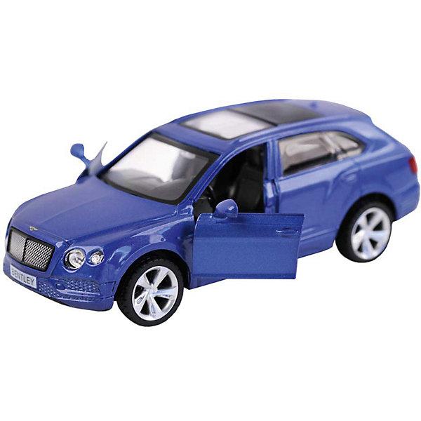 Автопанорама Машинка Автопанорама Bentley Bentayga, 1:45 каталка машинка r toys bentley пластик от 1 года музыкальная красный 326