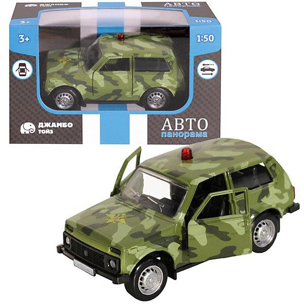 Машинка Автопанорама Военная, 1:50 АВТОПАНОРАМА