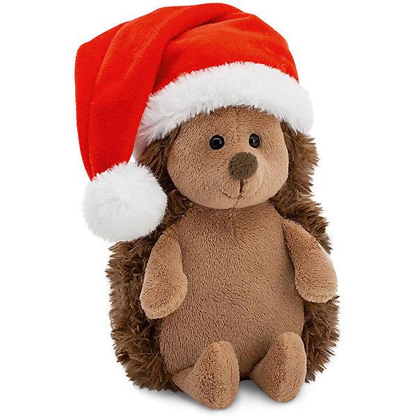 Купить Мягкая игрушка Orange Life Ёжик Колюнчик: Новогодний, 15 см, Россия, коричневый, Унисекс