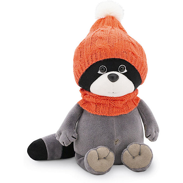 Orange Мягкая игрушка Orange Life Енотик Дэйзи: Тёплая прогулка, 20 см россия ёлочная игрушка снегирь прогулка по лесу