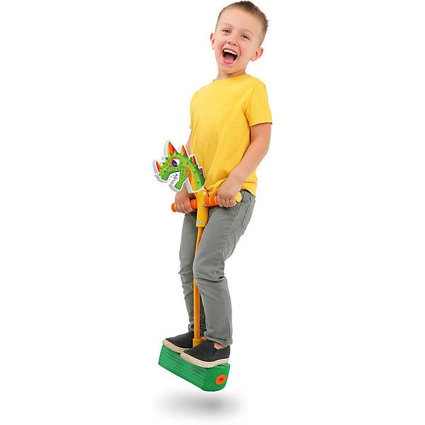 Купить Тренажер для прыжков Moby Kids MobyJumper Дино , со звуком, Китай, зеленый, Мужской