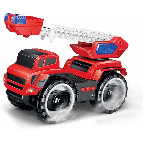 1Toy Машина 1Toy Подъемник пожарный, свет/звук машина наша игрушка машина черный 699 194b