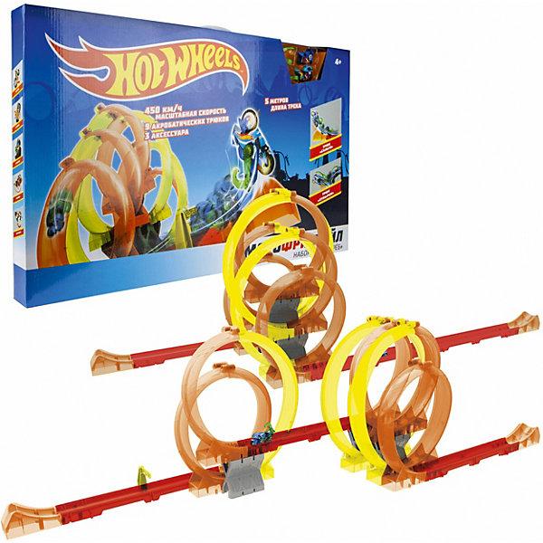 1Toy Игровой набор 1Toy Hot Wheels Мотофристайл, 25 деталей 1toy игровой набор прощай оружие профи топор 1toy