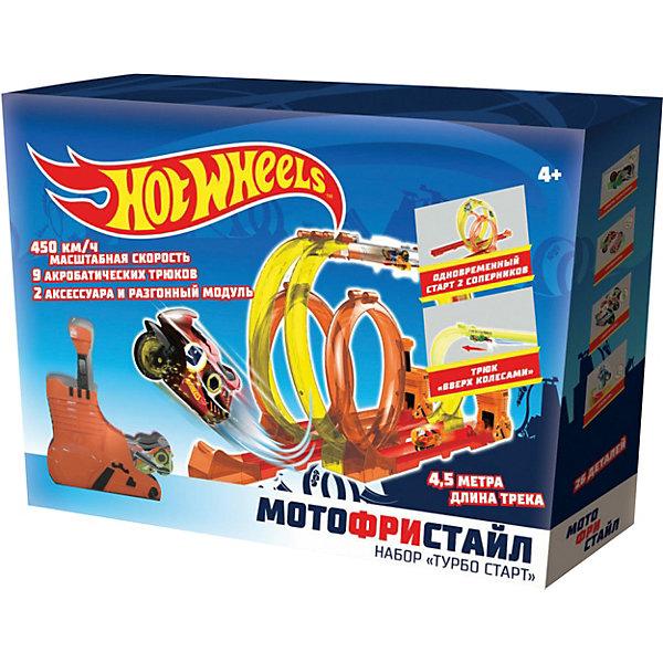 1Toy Игровой набор 1Toy Hot Wheels Мотофристайл, 20 деталей 1toy игровой набор прощай оружие профи топор 1toy