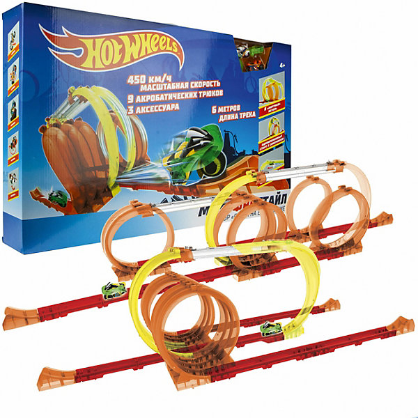 1Toy Игровой набор 1Toy Hot Wheels Мотофристайл, 30 деталей 1toy игровой набор прощай оружие профи топор 1toy