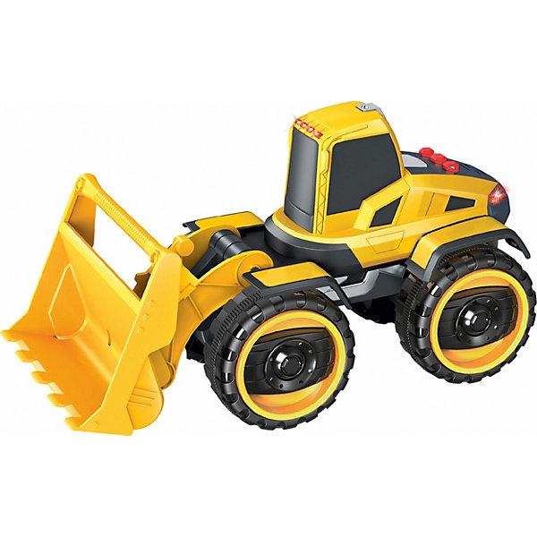 1Toy Машина 1Toy Горстрой: погрузчик, свет/звук машина наша игрушка машина черный 699 194b