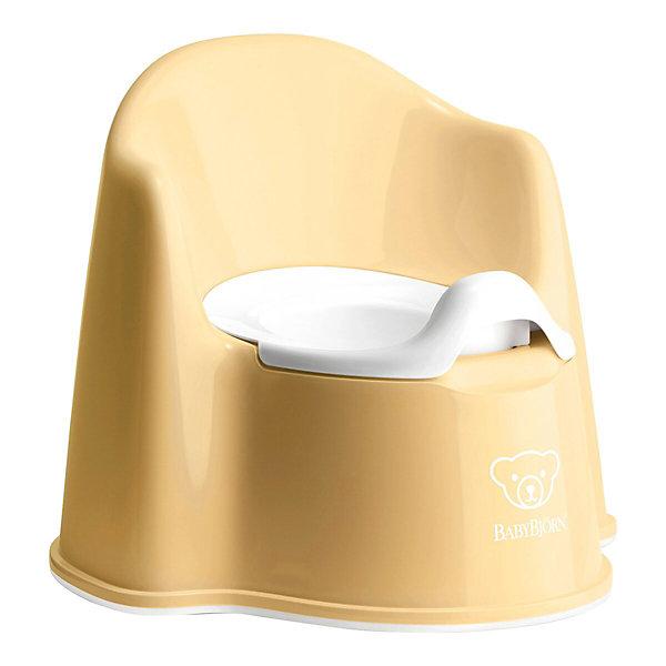 Фото - BabyBjorn Кресло-горшок BabyBjorn Potty Chair жёлтый горшок туалетный детский babybjorn smart цвет розовый