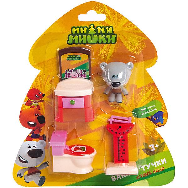 Gulliver Игровой набор Ми-Ми-Мишки Тучка и ванная комната, 3 детали интерьера