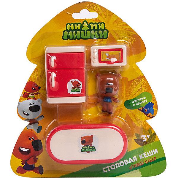 Gulliver Игровой набор Ми-Ми-Мишки Кеша и столовая комната, 3 детали интерьера
