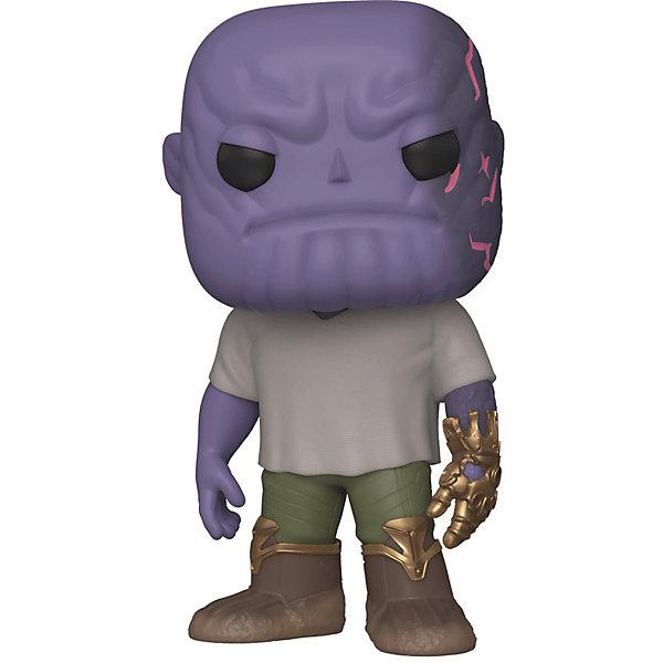 Funko Фигурка POP! Bobble: Marvel: Мстители: Финал Танос с перчаткой, 45141