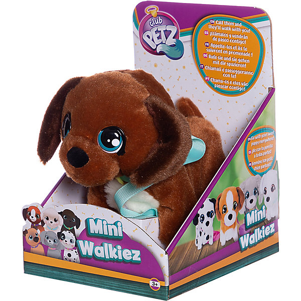цена на IMC Toys Инерактивный щенок IMC Toys Club Petz Mini Walkiez Chocolab