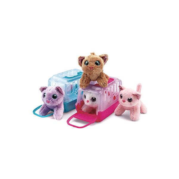 Junfa Toys Мягкая игрушка Junfa Toys Мой питомец Кошечка в переноске junfa toys одежда для кукол белое платье junfa