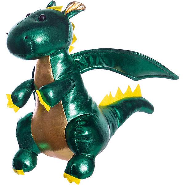 ABtoys Мягкая игрушка Металлик Дракон, 20 см