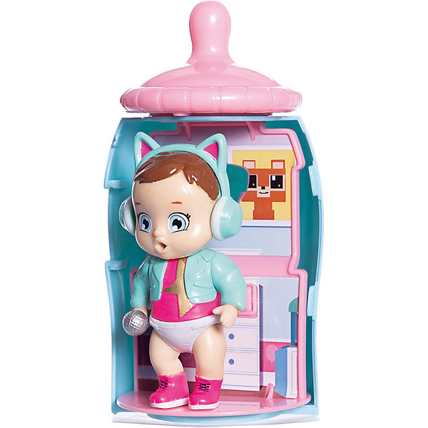 ABtoys Мини-кукла Baby Secrets Bottle Surprise, в бутылочке