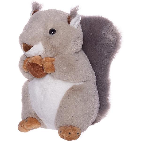 ABtoys Мягкая игрушка Бельчонок с орешком, 20 см