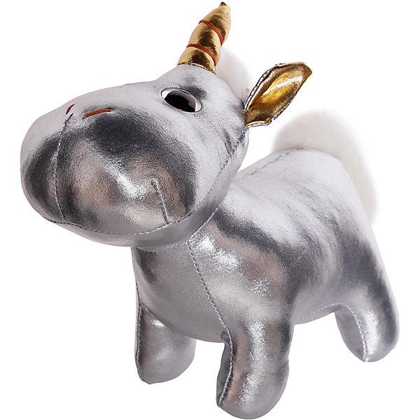 ABtoys Мягкая игрушка Металлик Единорог, 18 см